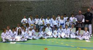 Fellesbilde julegradering junior 2010